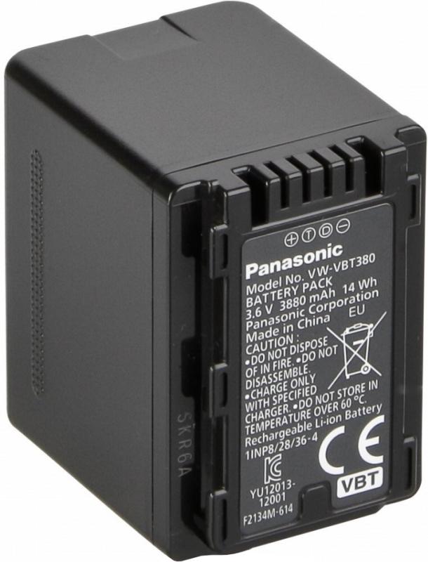 Купить аналог аккумулятор Panasonic VW-VBT380 3880mAh, аккумуляторная батарея для видеокамеры panasonic HC-V710, HC-V720, HC-V750, HC-V770 в интернет-магазине БРИЗ.ру