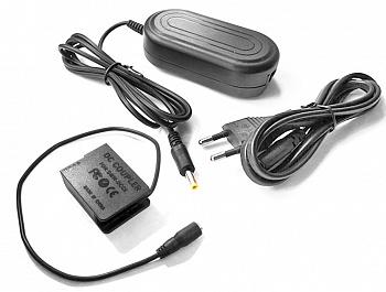 купить блок питания для фотоаппарата Panasonic Lumix DMC-GH2, DMC-G5, переходник адаптер DMW-BLC12 в интернет-магазине БРИЗ.ру
